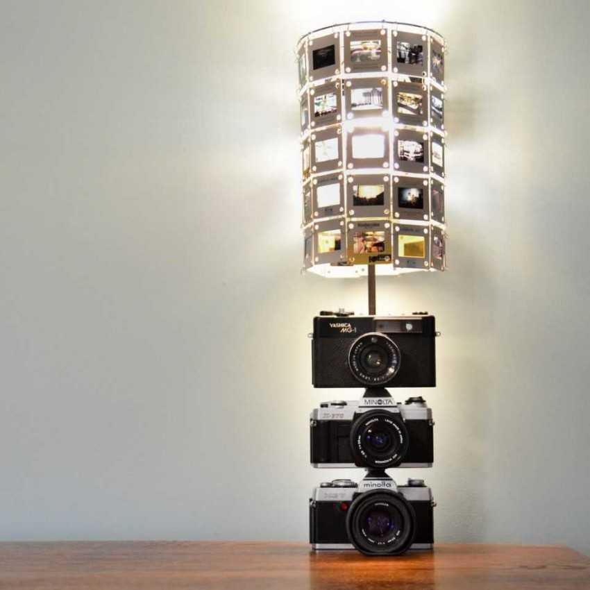 светильник из фотографий своими руками маску