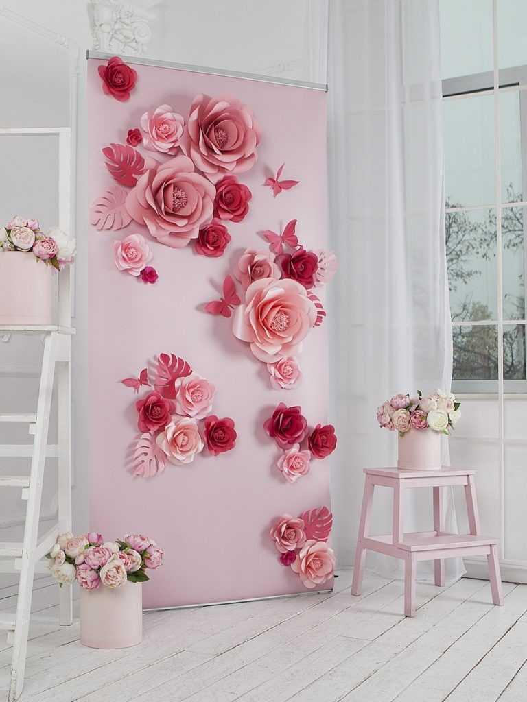 как сделать стену из цветов для фотосессии цель этой