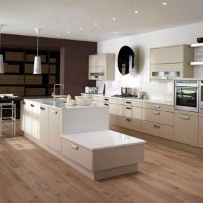 Дизайн бежевой кухни — 155 фото лучших решений современных дизайнеров в современных стилях
