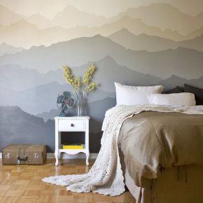 Идеи стен в спальне — варианты отделки и оформления стен для дизайна современного интерьера (85 фото и видео)