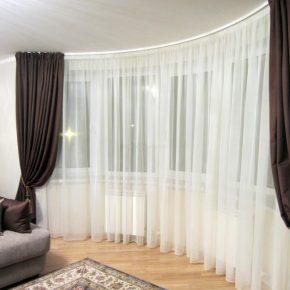 Шторы для гостиной — модные и современные варианты сочетания, а также стильные, актуальные идеи оформления интерьера гостиной с шторами (115 фото + отзывы)