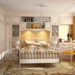 Современные угловые спальни — 60 фото красивых сочетаний и оформления стильного интерьера