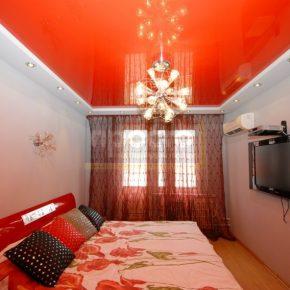 Как сделать натяжной потолок в спальне — 125 фото и видео пошагового описания установки и оформления потолка и поточных конструкций